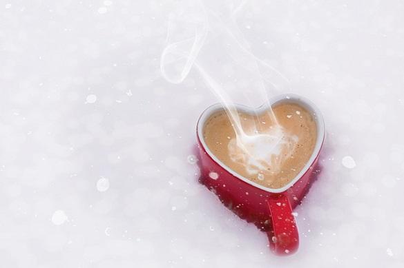 Кружка в виде сердца