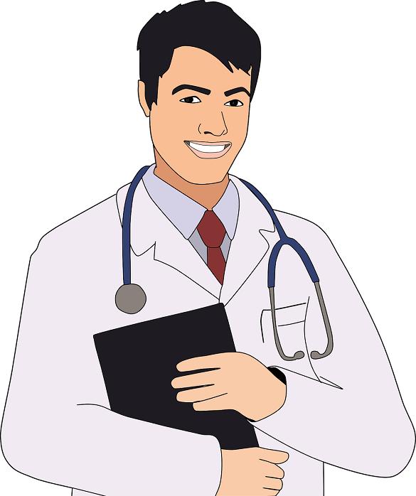 Нарисованный врач