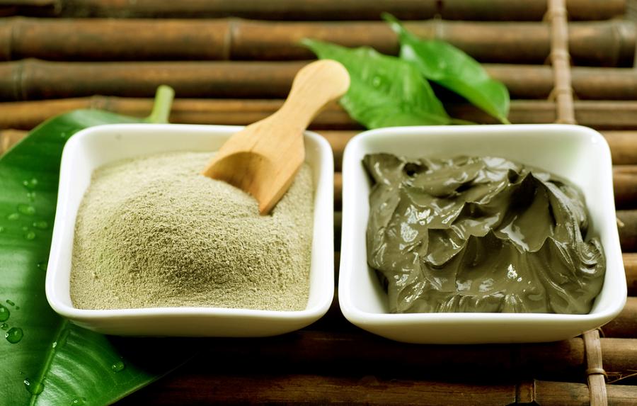 Для чего используется зеленая глина?